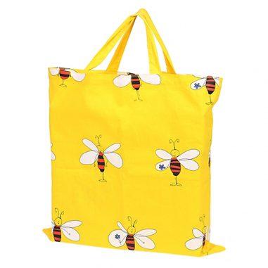 Bienentasche gelb