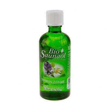 Saunaöl Thymian Zitrone 100ml Bio