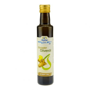 MANI Olivenöl Ingwer Bio 0,25l