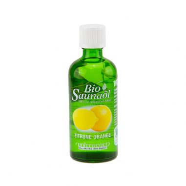 Saunaöl BIO Zitrone Orange 100ml