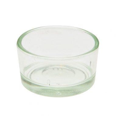 Teelichtbehälter Glas