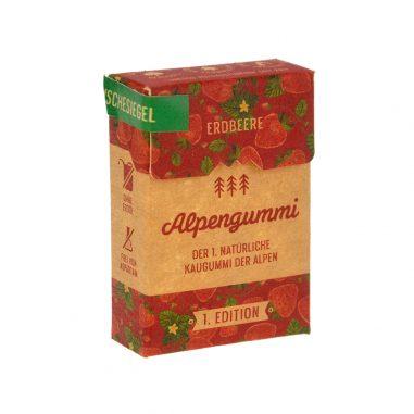 Alpengummi Erdbeer-Basilikum 12g