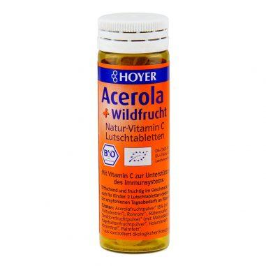 Acerola Wildfrucht Tabletten Bio 60 Stk.