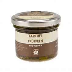 Trüffel mit Oliven 100g