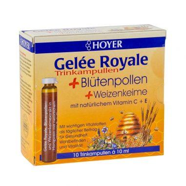 Gelee Royale +Blütenpollen +Weizenkeim