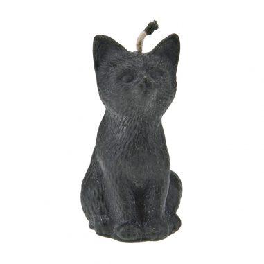 Katzenkerze schwarz