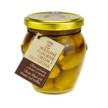 Oliven gefüllt mit Trüffel & Käse 190g