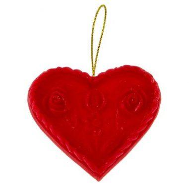 Anhänger Herz rot